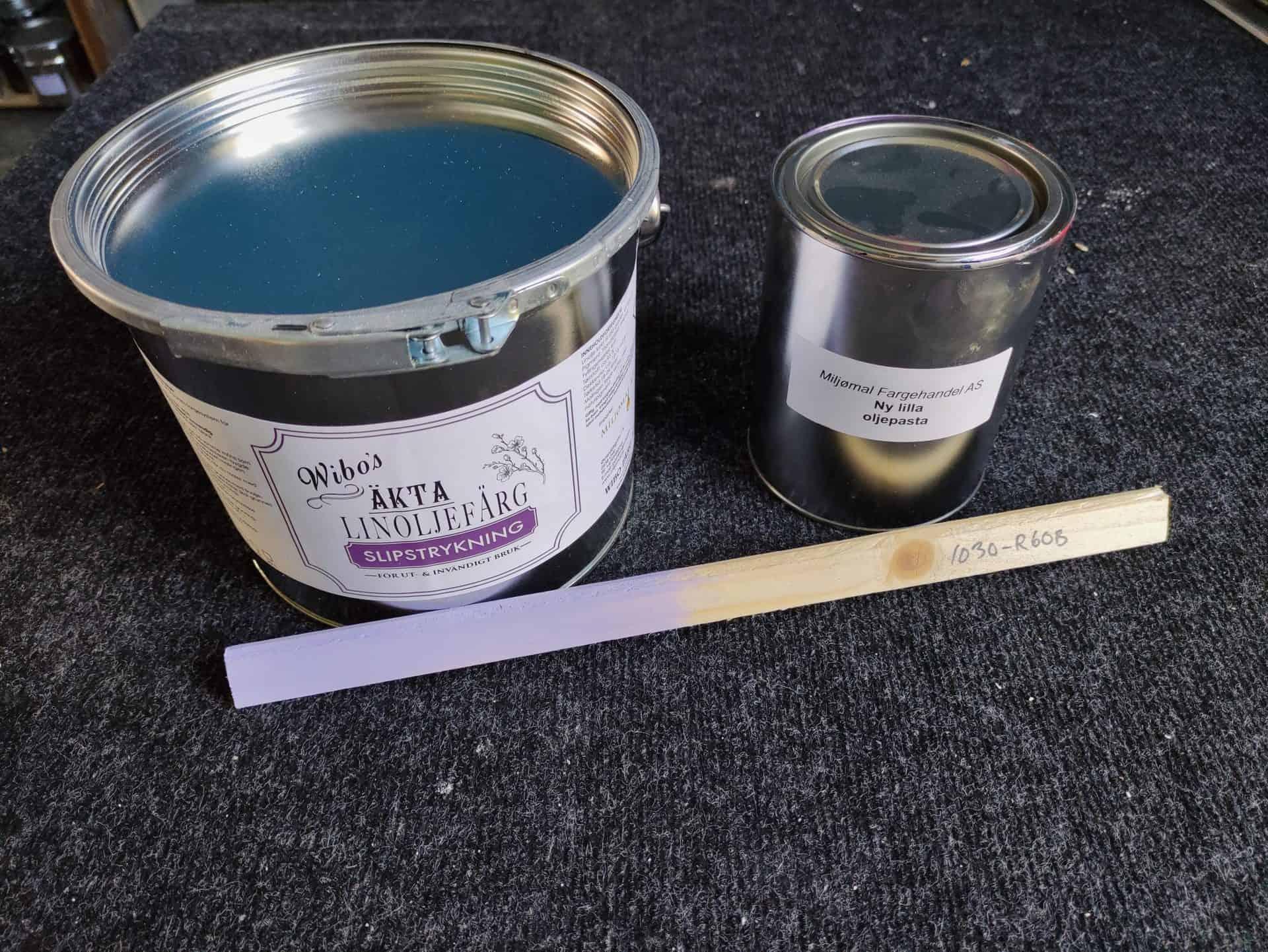 Wibo Linoljemaling Tilsatt Fargepigment For Hånd