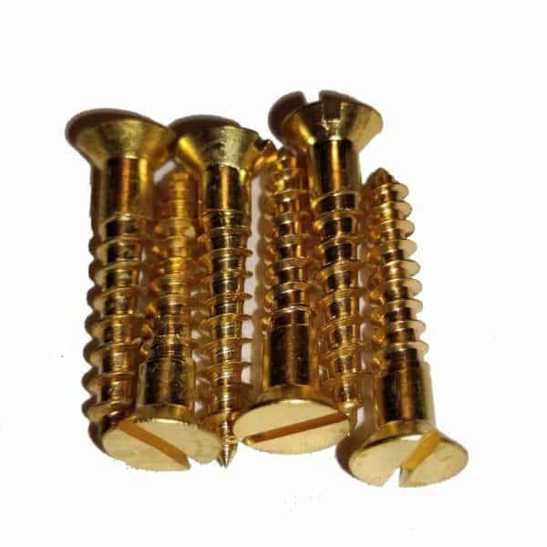 Messingskrue Enkeltspor 5x25 1
