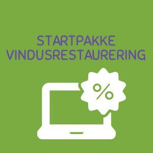 Startpakke Vindusrestaurering