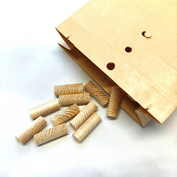 Treplugger Furu Tverr Fiber 25mm