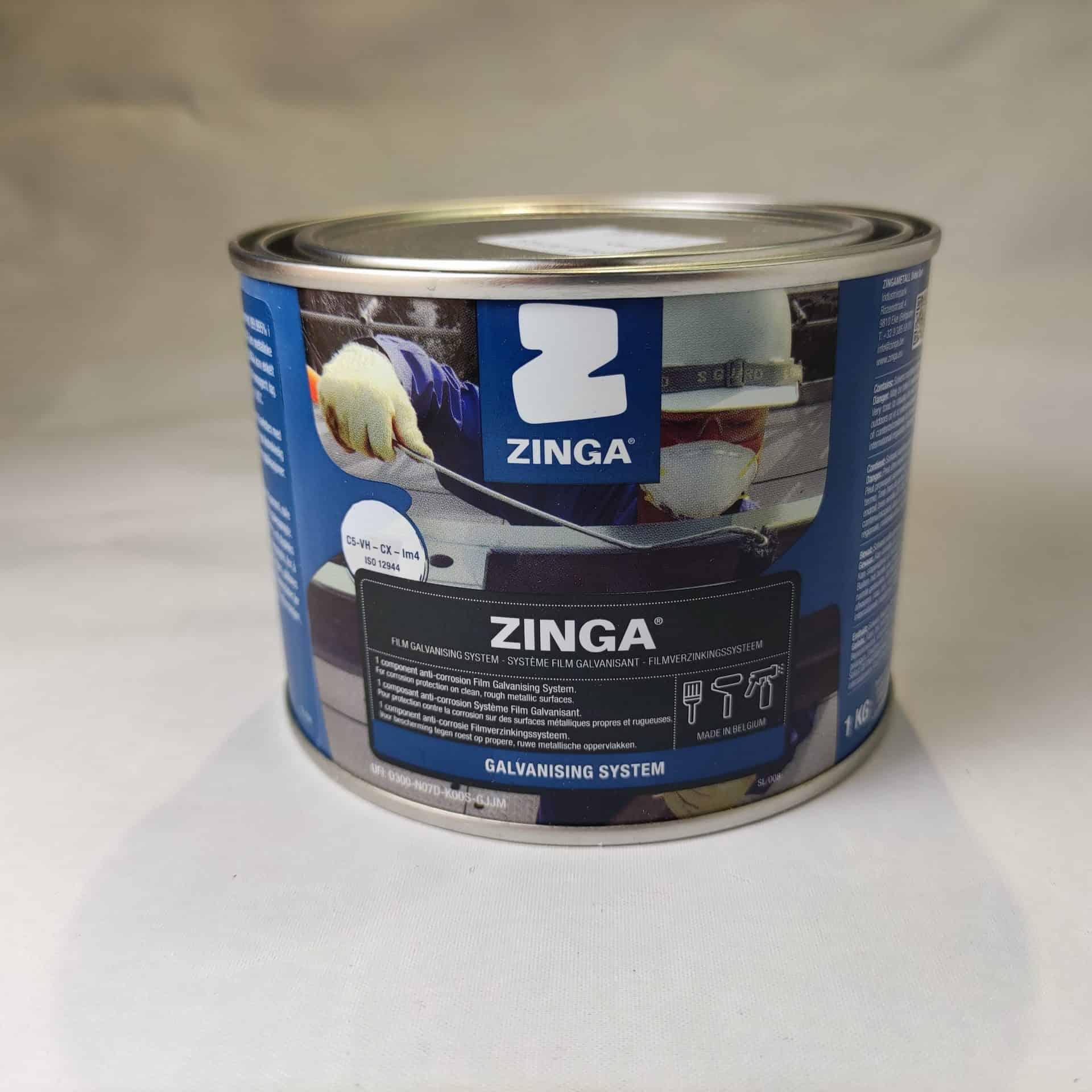 Zinga Film Galvanisering
